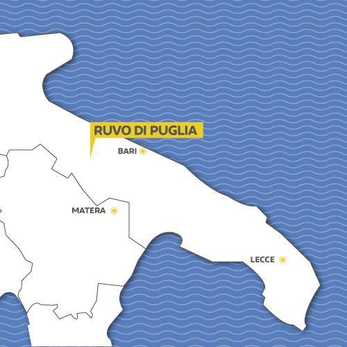 Cartina Ruvo Di Puglia.Ruvo Di Puglia